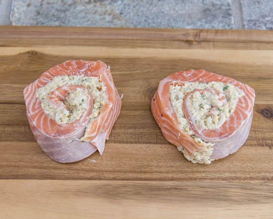 Camerons Seafood Rockville MD Crab Stuffed Salmon 550x440 - Cameron's Seafood, Rockville MD