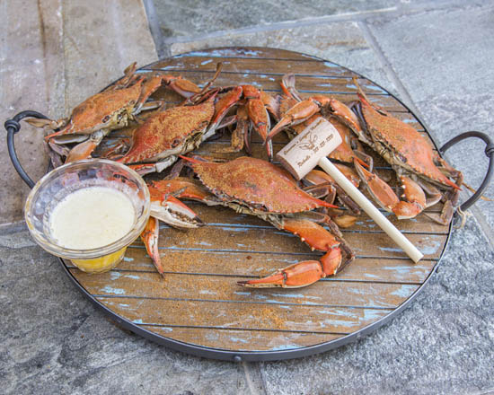 Camerons Seafood Rockville MD Jumbo Crabs Butter 550x440 - Cameron's Seafood, Rockville MD