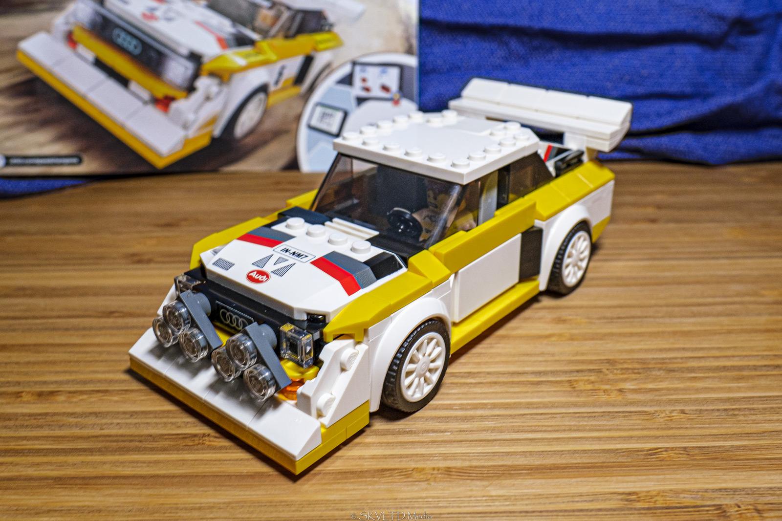 LEGO Audi Sport Quattro S1 01 - LEGO Speed Champions 2020 - Audi Sport Quattro S1 Build